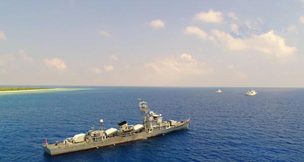 军警民编队首巡西沙岛礁 驱离外籍渔船10余艘