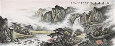 张利:国礼书画艺术家山水画集精选