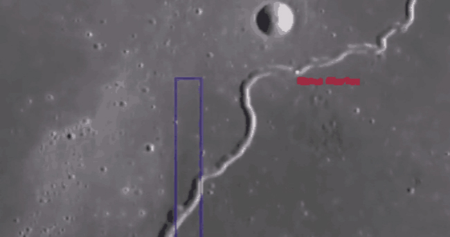 月球裂缝下神秘洞穴疑似有生命体出现