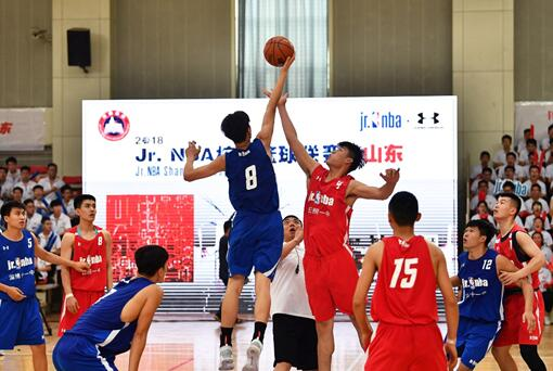 Jr. NBA校园篮球联赛山东站高中组收关 淄博十一中夺冠