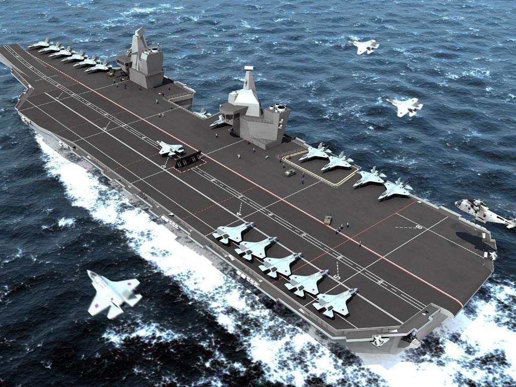 尴尬!英国取消安排特朗普参观航母:甲板没战机