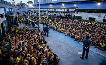 菲律宾监狱进行全面大搜查