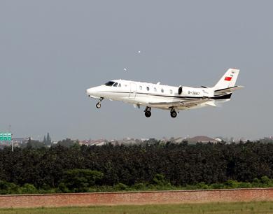瑶湖机场完成校飞工作 即将投入使用