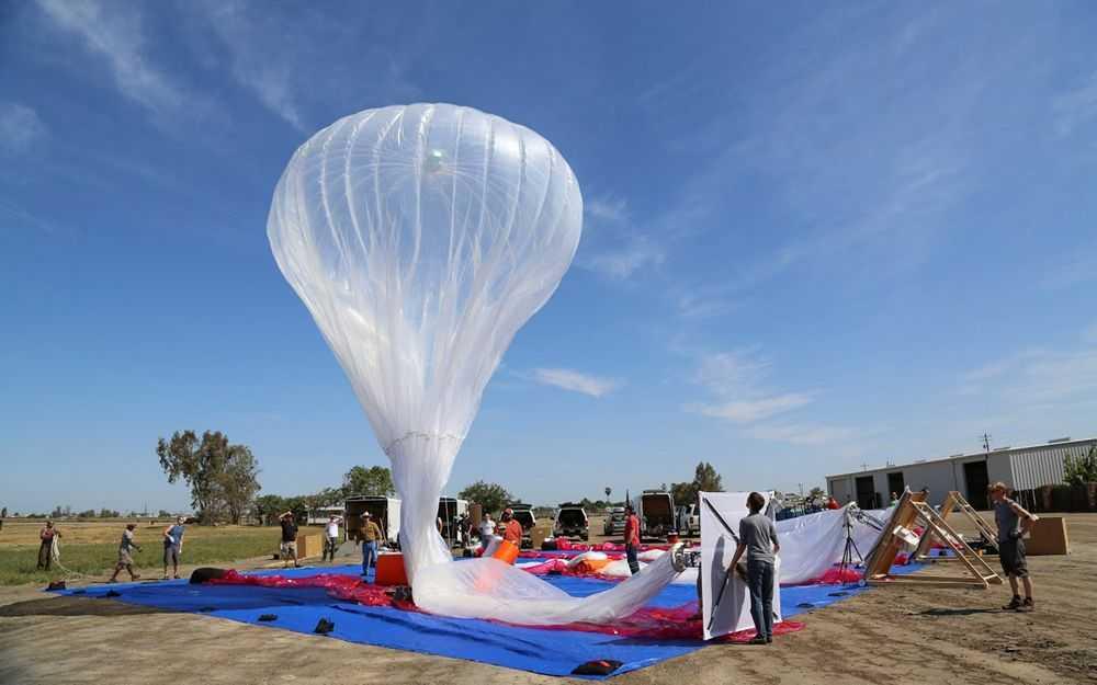肯尼亚计划利用谷歌联网气球为乡村地区提供高速网络