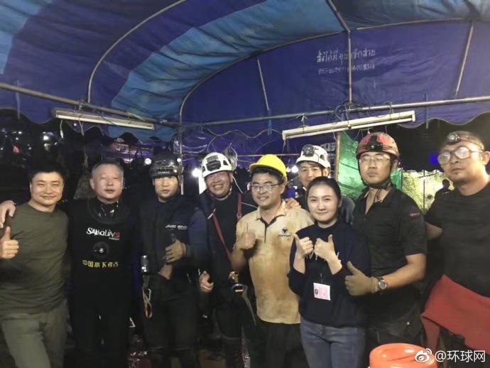 泰国溶洞被困足球少年已被救出4人 今日救援结束