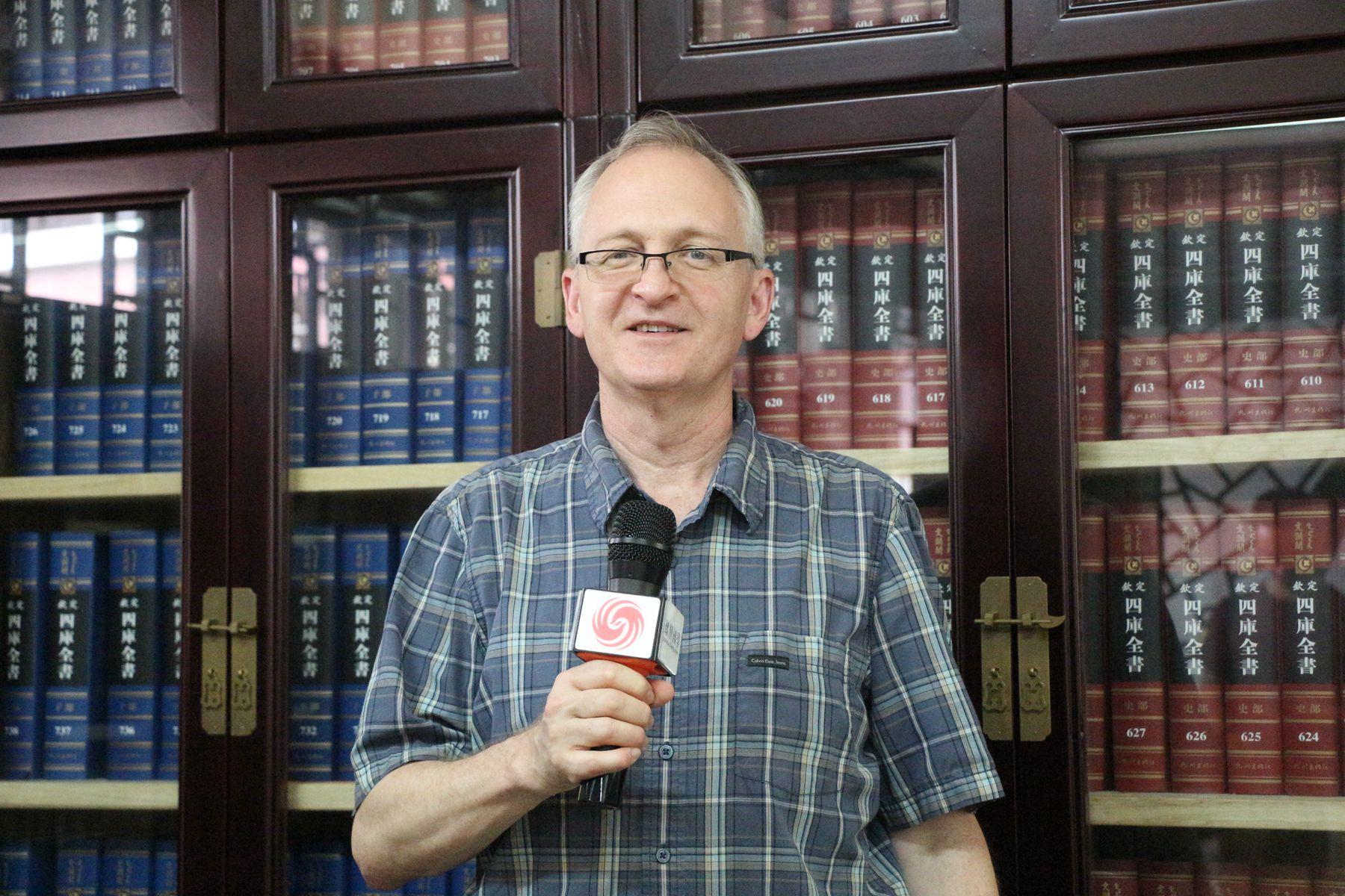 罗斌(Robin McNeal)教授接受凤凰网国学频道独家专访