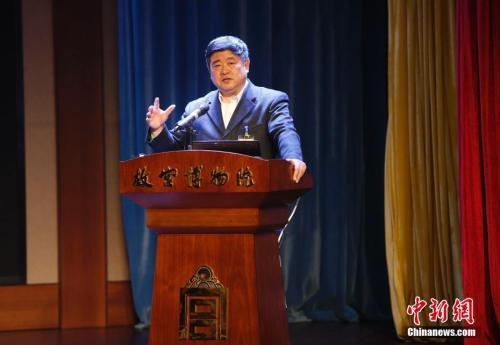 单霁翔:故宫文物展出比例预计将增至30%_故宫-展出-都有-文物-是一个