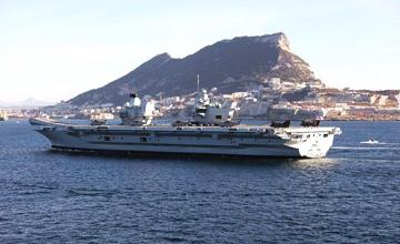 """英国要派最新型航母巡逻南海,但舰载机都没配全…"""" width="""