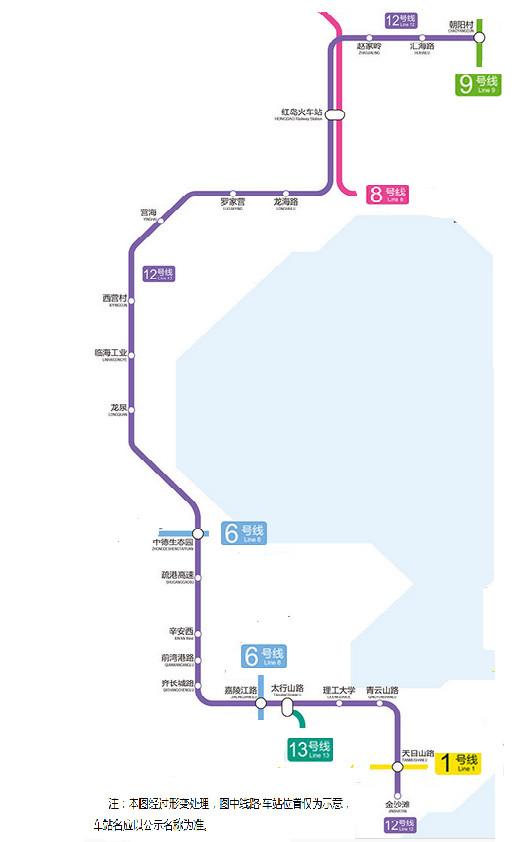 青岛又有3条地铁新线 环胶州湾地铁版图显现