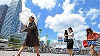 日本全国多地遭遇罕见高温 一天内13人中暑死亡