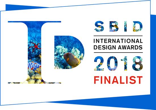本则设计成功入围2018年英国SBID国际设计奖