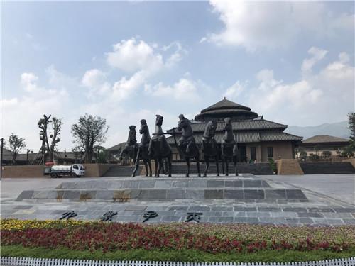 与传承为核心的中国周原景区在周文化的发祥地陕西宝鸡岐山正式开园