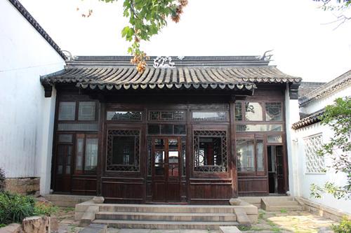 隋唐古代建筑手绘图