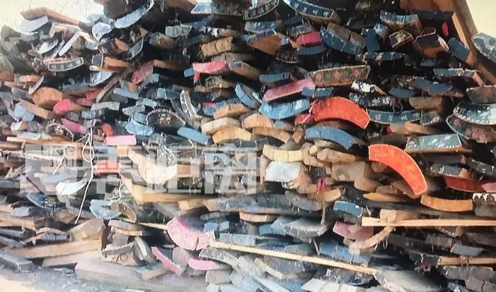 废弃棺木做成装修板材? 大量流入宿迁,真相如何