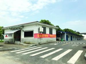 江西奥体中心停车场成了洪安驾校练车场(图)