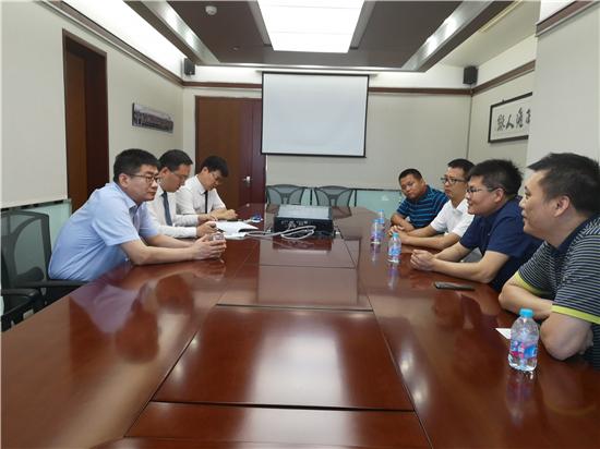 共赢未来 | 大卫董事长一行到访居然之家北京总部