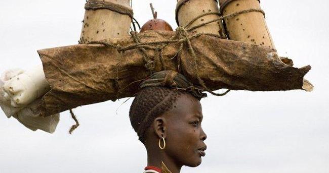 世界唯一以胖为美的原始部落,每天喝牛血,肚子越大女人越喜欢!