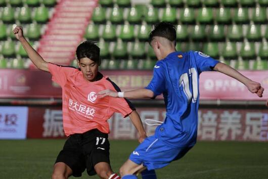 恒大冠军赛U16组别落幕 恒大小将点球击败赫塔菲