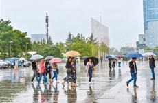 西安阴雨天气将持续到20日 最高温将降至20℃左右