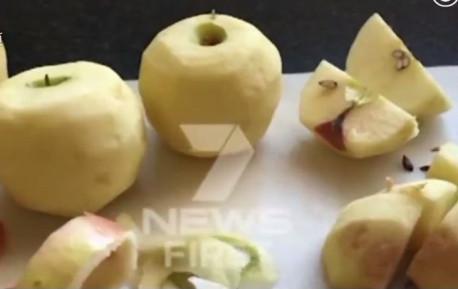 视频|苹果香蕉也被发现恶意藏针!澳大利亚陷全国性恐慌