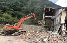 汉滨打好秦岭生态环境专项整治保卫战