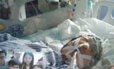 29岁农妇头发卷入收割机 整个头皮被生生撕扯下