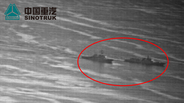 """强硬拦截美舰!中国海军逼其至""""0距离"""""""