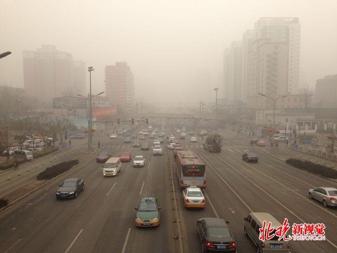 污染、冷空气携手赴京!北京将迎入秋后首个中度污染天