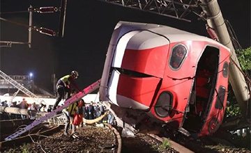 台湾火车出轨
