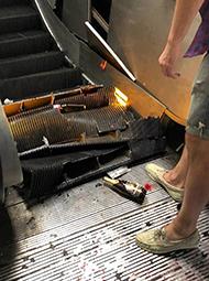 意大利地铁电梯故障