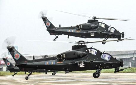 中国武装直升机成建制上高原 满载弹药一口气窜到5000米