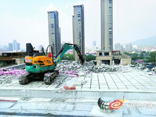 滚动:无锡一平墅区违建开始拆除3个月将清理完成