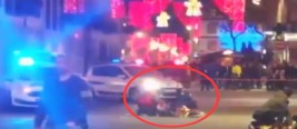 现场!法国斯特拉斯堡枪击案嫌疑人逃亡两天后 被警方当场击毙
