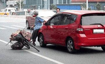 """碰瓷党惊现""""行规"""",这三种车绝对不敢碰!"""