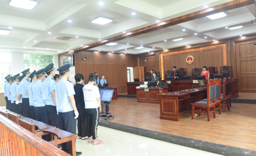揭陽惠來法院對涉惡勢力犯罪等案進行集中宣判