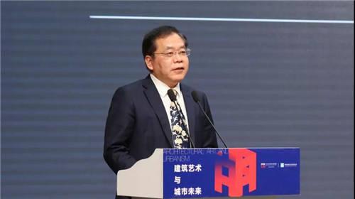 中国建筑西北设计研究院有限公司党委书记、董事长熊中元先生致辞