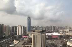 西安收获今年首个蓝天 解除重污染天气橙色预警