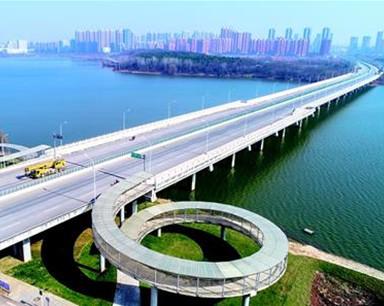 武汉江北快速路明日通车