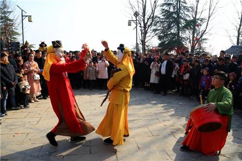春节假期 芒砀山一路欢歌 高潮迭起