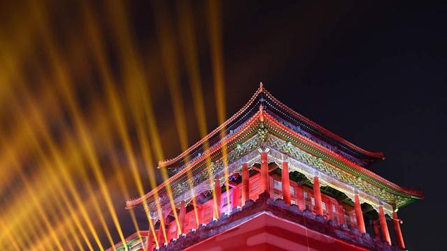 北京元宵节 故宫上元之夜灯璀璨