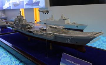 辽宁舰领衔中国装备亮相阿布扎比 产品性能全覆盖