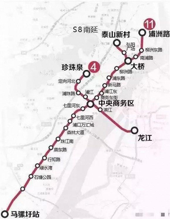 南京四号线二期路线图