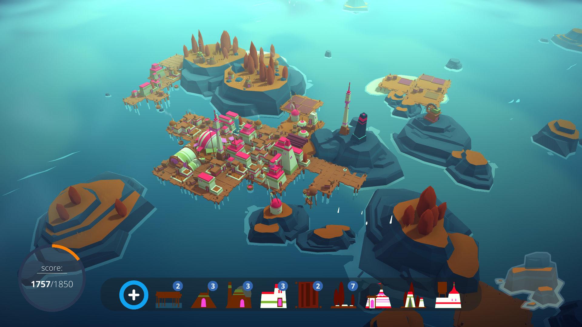 Steam新游《ISLANDERS》 感受建造带来的成就感