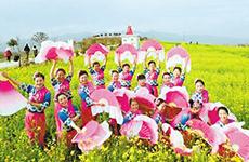 相约汉中 2019中国最美油菜花海旅游文化节拉开帷幕