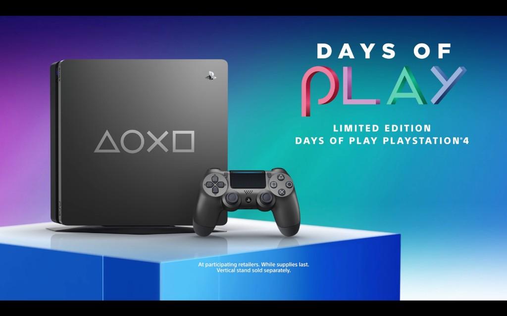 """索尼推出PS4限量机""""Days of Play""""  硬盘内容量1TB"""