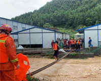 惠州:龙门蓝田乡遭遇严重内涝灾害
