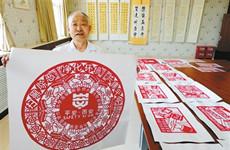 结合多种艺术形态 陕西多地开展扫黑除恶宣传