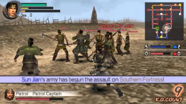 细数《无双》系列在PlayStation掌机上的发展史