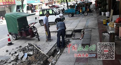 弋阳滨江时代广场小区餐厅的居民不敢打开窗户