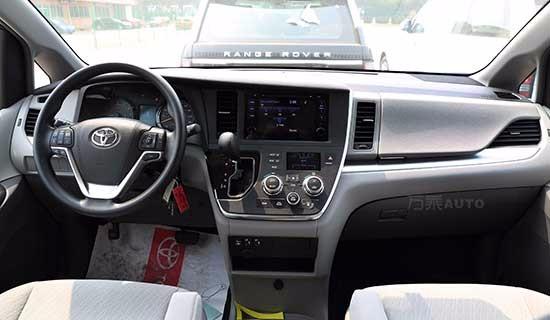 16款加版丰田塞纳le 3.5汽油平行进口车